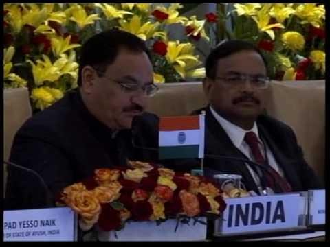 Addressed 6th  #BRICS Health Ministers Meeting at New Delhi