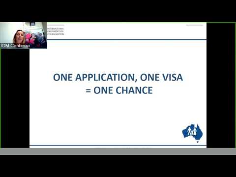 Temporary Graduate Visa presentation for International Students completing studies in Australia