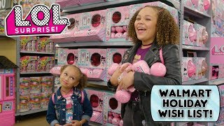 LOL Surprise! | Walmart Holiday Wish List | Special Edition Toy Hunt