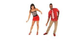 How to Do Drunken Step aka Half Grapevine | Bachata Dance