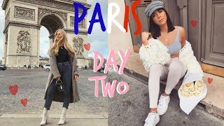 PARIS DAY TWO! | BUSY BEING PARISIANS | Sophia and Cinzia