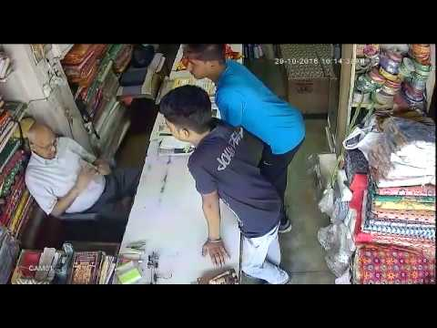 Punjab Boys Stealing Cash in Day Time (CCTV Footage)