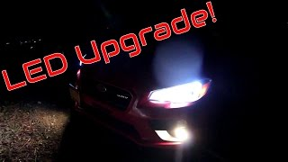 homepage tile video photo for Lights Upgraded on the WRX- 2016 Subaru WRX