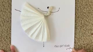 The Art Menu | Most Beautiful Stone Art Series | Easy Pebble Art - Dancing Diva 1