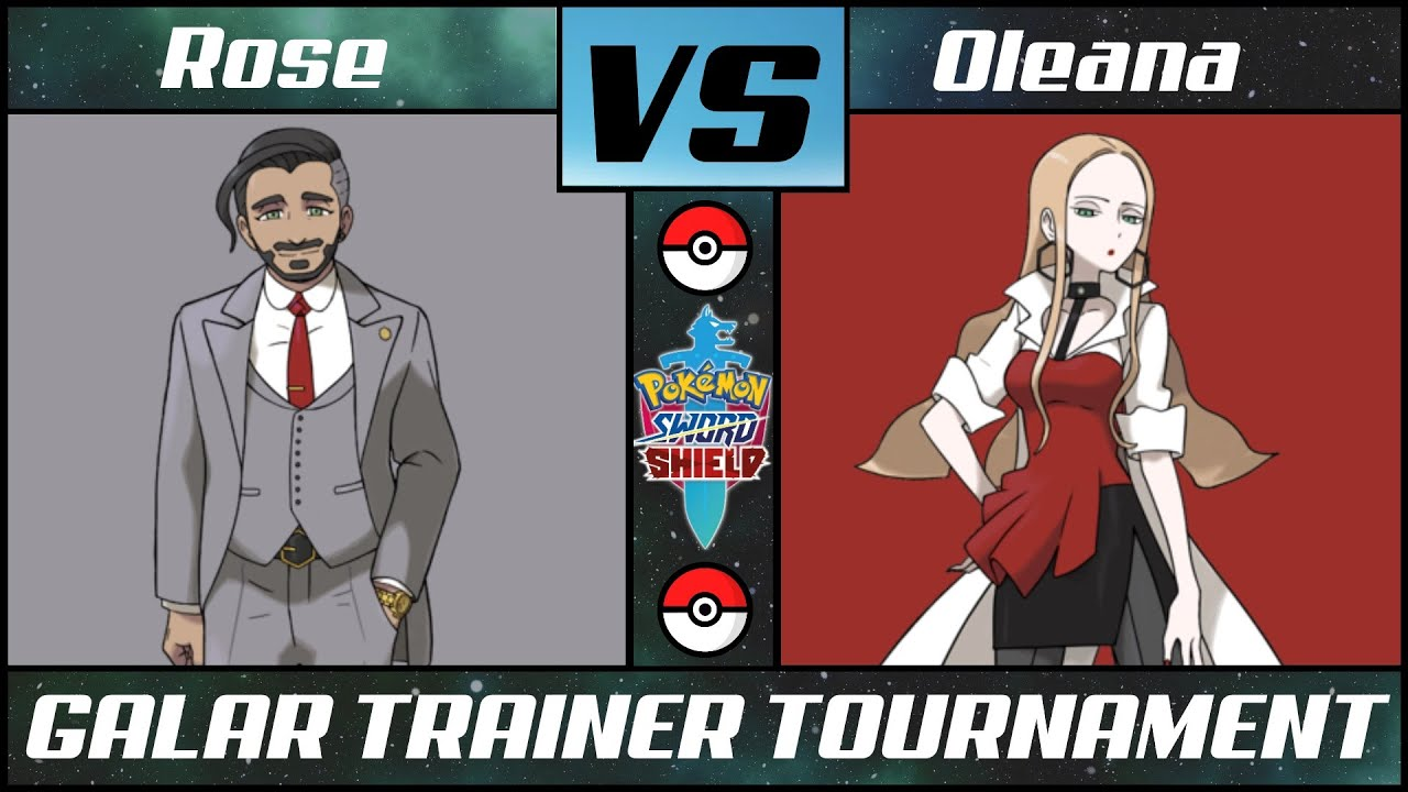 Galar Trainer Tournament: ROSE vs OLEANA - Quarterfinal #3