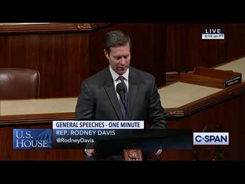 Ranking Member Rodney Davis Recognizes Heroic Actions of US Capitol Police on House Floor