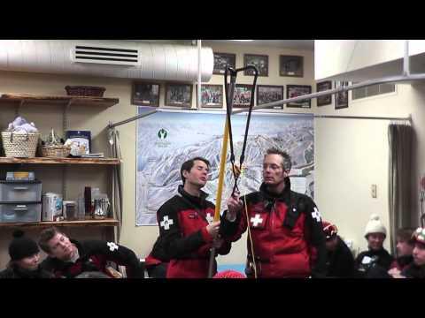 Deer Valley Ski Patrol Morning Meeting and Training
