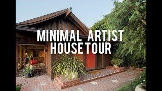 MINIMALIST + ARTISTIC HOUSE TOUR