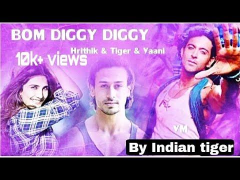 Boom Diggy Diggy-vs || Hritik Roshan ||Tiger Shroff || Vaani Kapoor Amazing Dance Video 👈