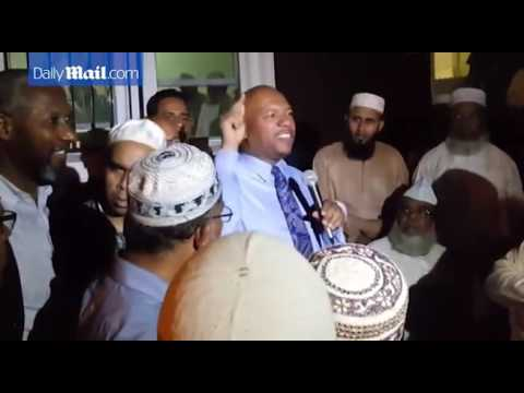 People at rally blame Trump for Imam shooting in Queens