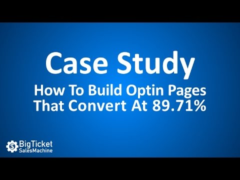 How To Build High-Conversion Optin Pages Using LeadPages.net