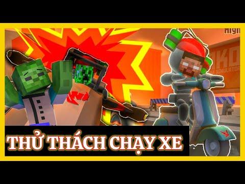 [ Lớp Học Quái Vật GAME ] THỬ THÁCH CẢ LỚP CHƠI TRÒ ĐUA XE SIÊU HÀI HƯỚC | Minecraft Animation