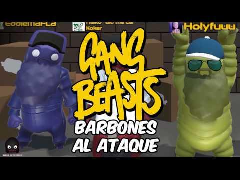 BARBONES MOCHEROS! Gang Beast Online en Español - GOTH