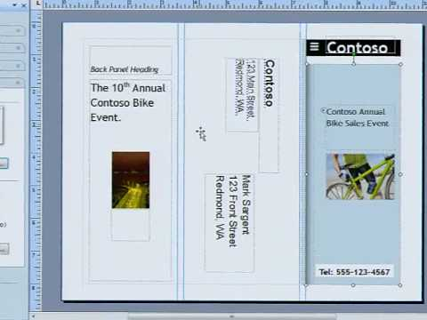 Creating Brochures That Sell With Microsoft Publisher 2007