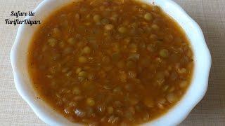 Yeşil Mercimek Çorbası Tarifi - 20 Dakikada Hazır Mercimek Çorbası - Çorba Tarifleri