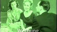 Underberg Werbung 1959