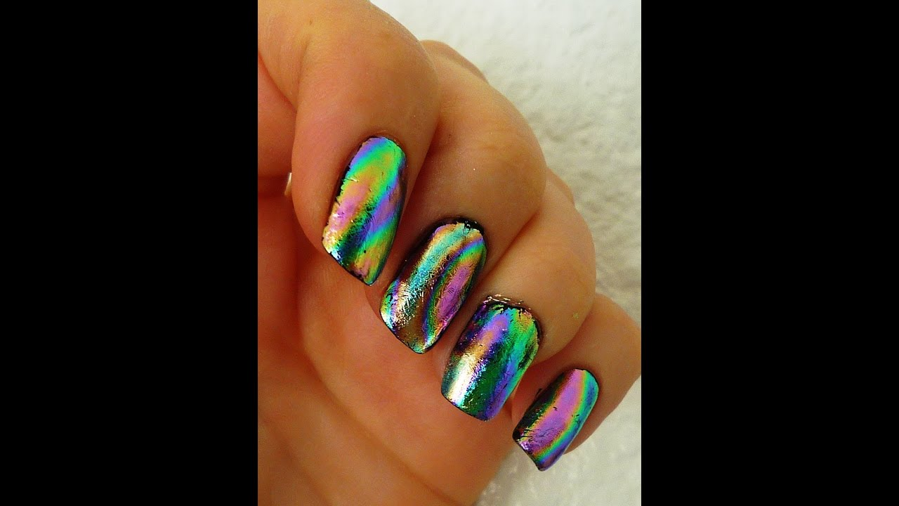How To Make Foils Last Longer On Nails Youtube