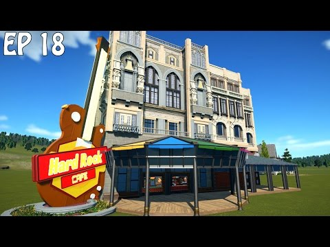 Hard Rock Cafe | Planet Coaster Gameplay