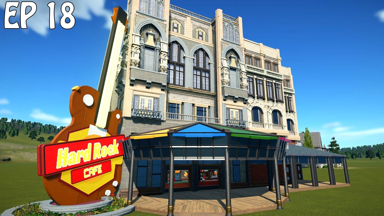 Hard rock cafe planet coaster gameplay youtube hard rock cafe planet coaster gameplay malvernweather