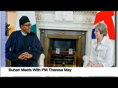 Nigeria/UK Ties: Buhari Meets With PM Theresa May