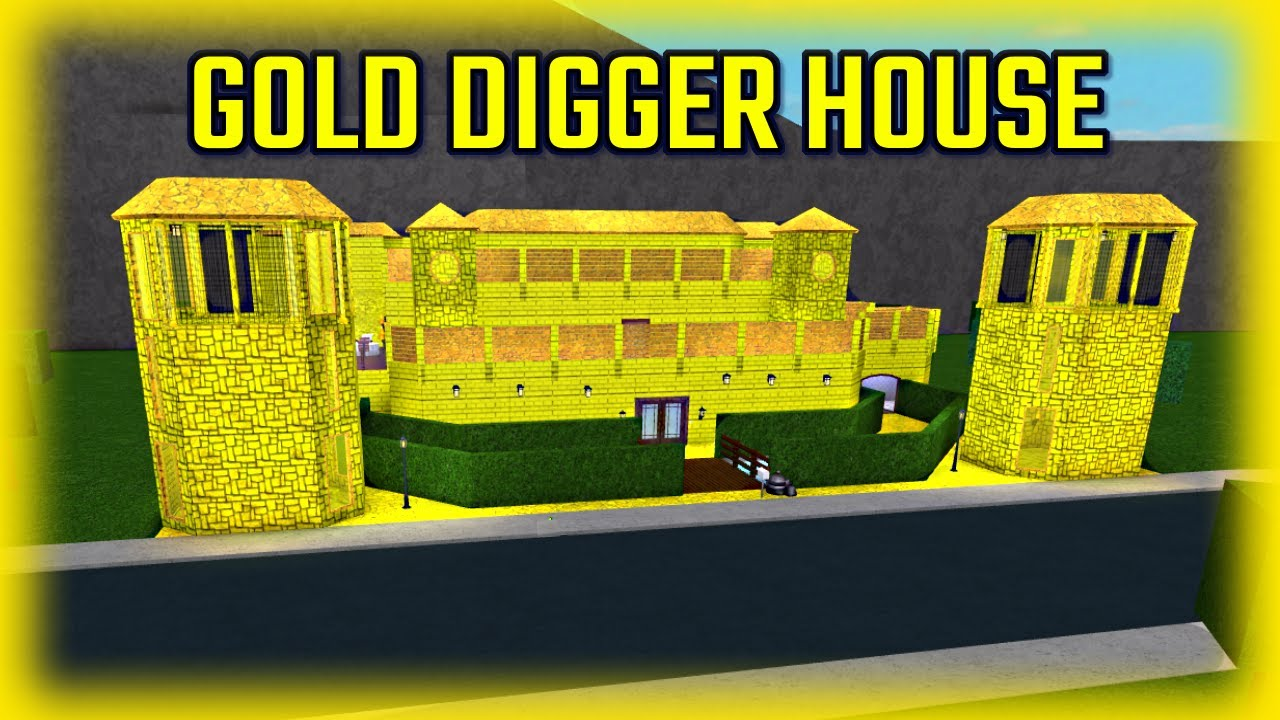 BRAND NEW GOLD DIGGER HOUSE!!! w/ InquisitorMaster (Roblox ...