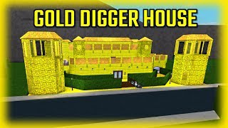 BRAND NEW GOLD DIGGER HOUSE!!! w/ InquisitorMaster (Roblox)