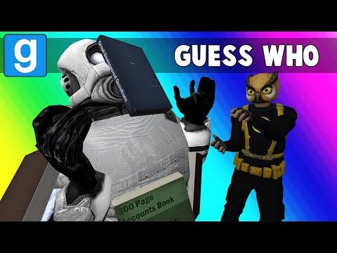 Gmod Guess Who Funny Moments - Attack of the Terminal Book Store! (Garry's Mod)