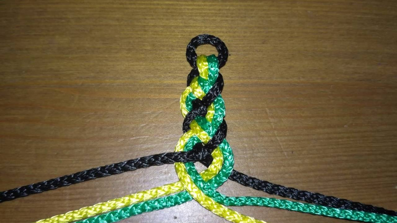 Кельтские плетеные браслеты