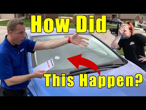 My $22,000 Chevrolet Cruze Windshield replacement cost.😱