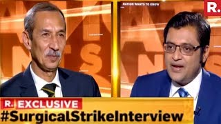 Lt Gen DS Hooda On Nation Wants To Know With Arnab Goswami | Exclusive