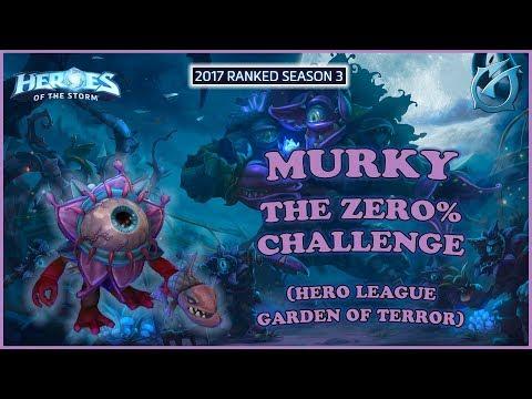 Grubby   Heroes of the Storm - Murky - The 0% Challenge - HL 2017 S3 - Garden of Terror