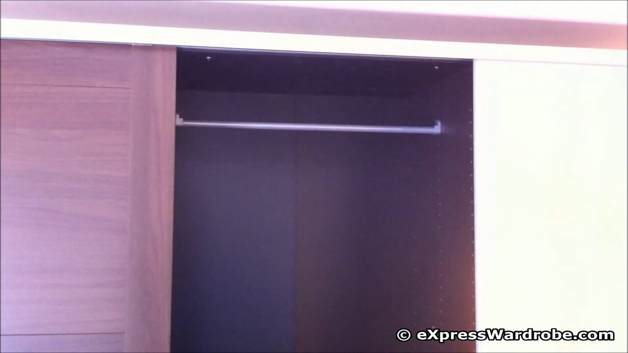 ikea elga 3 sliding doors wardrobe design youtube. Black Bedroom Furniture Sets. Home Design Ideas