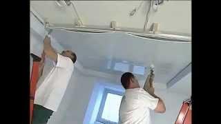 Процесс установки натяжного потолка в квартире.flv(, 2012-11-14T10:53:40.000Z)