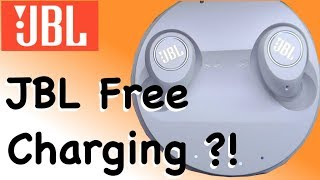How to charge JBL Free battery - wireless in-ear headphones