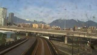 Skytrain: Surrey to Downtown Vancouver - High speed thumbnail