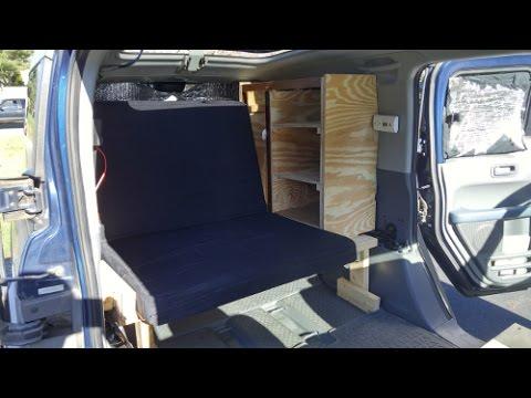Honda Element Camper Build Details Youtube