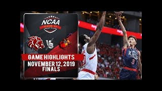 SBU vs. CSJL - November 12, 2019 | Game Highlights | NCAA 95 MB