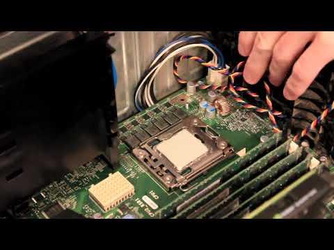 Dell Precision T5500 Build Series: Part 2 - CPU and Riser Board Install