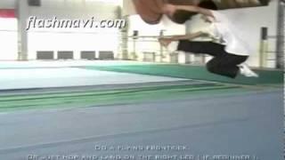 Wushu Jumps - Teng Kong Fai Jiao - Ce Kong Fan