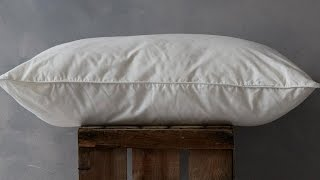 Luxury Pure Cotton Summer Pillow Pair