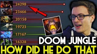 Miracle- Dota 2 [Doom] What! Doom Jungle Top 1 Networth