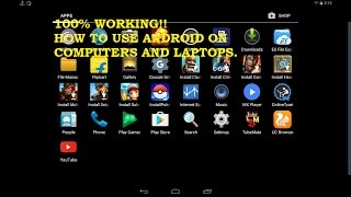 how to use android on pc or laptop hindi