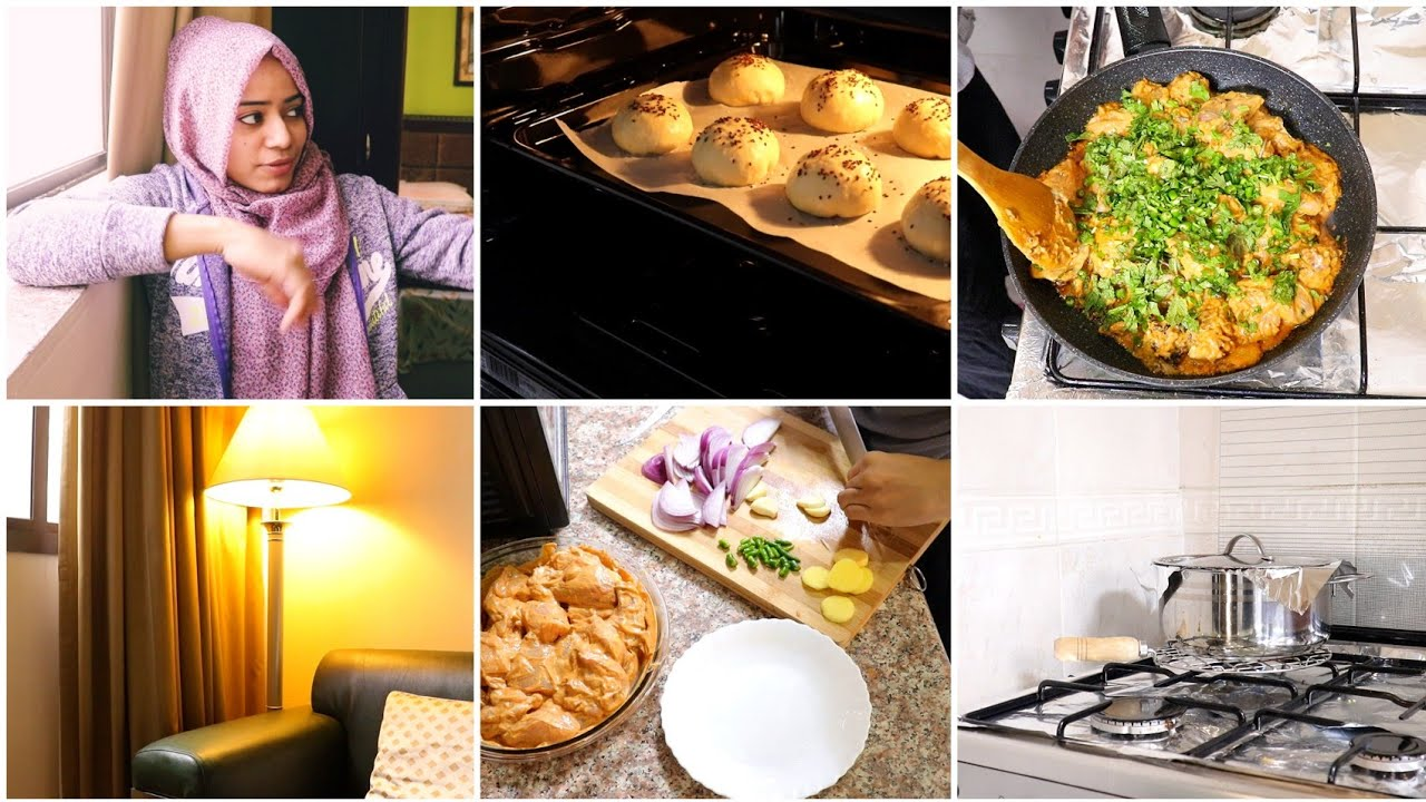 It's a Vlog Day / Reshmi Chicken Gravy / Cheesy Chicken Buns / Coconut Milk Rice / day in my life