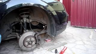 Замена натяжителя и ремня генератора ФОрд Мондео 3 (Ford Mondeo 3)