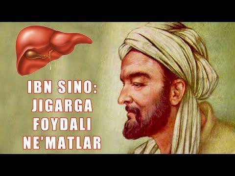 Ибн Сино Жигарга Фойдали Неъматлар Хакида !!!