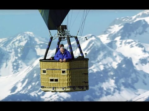 Attenborough Flies Over Alps - Planet Earth II