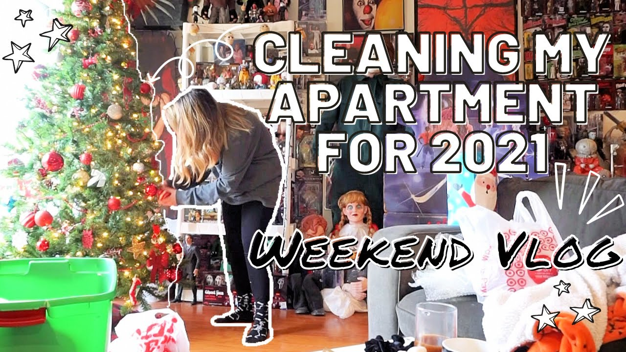 CLEANING FOR 2021 + MY WEEKEND | HALLOWEEN HAPPY