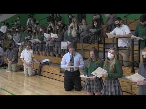 Newark Catholic High School Mass 12-8-2020