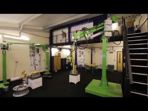 INDEVA manipulators, the evoluted materials handling systems