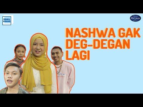 NASHWA DAPAT PENGALAMAN BERHARGA DI INDONESIAN IDOL JUNIOR + PEMENANG JUNIOR X GIVEAWAY  IDOL SHOOK